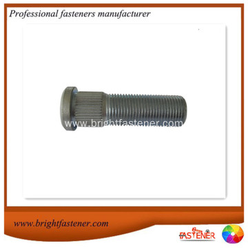 High strength Knurl Wheel Stud Hub Bolts